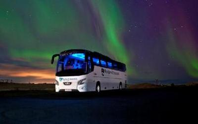 Flybus Transfer upon arrival to your accommodation in Reykjavík