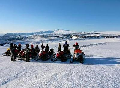 Snowmobiling on Mýrdalsjökull Glacier (What To Do - South West)